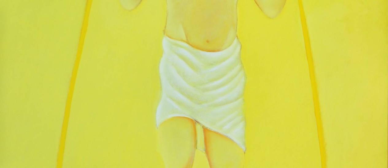 Quadro Ressureição de Cristo, de Mário Mendonça Foto: Divulgação / Reprodução