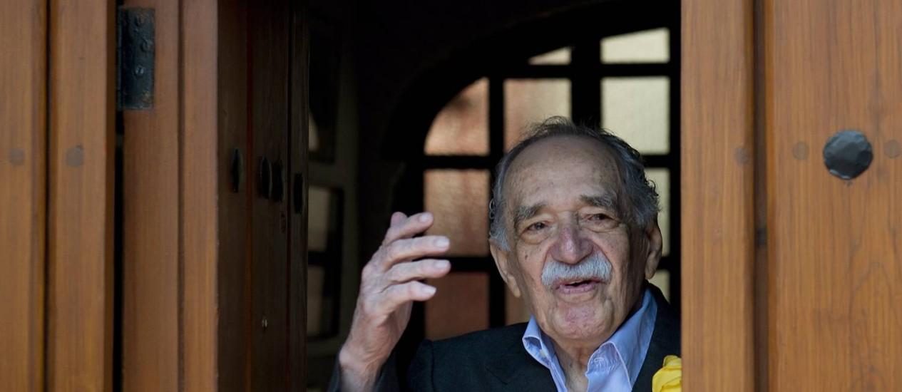 O autor de 'Cem anos de solidão' morreu no dia 17 de abril Foto: YURI CORTEZ / Agência O Globo