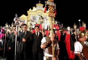 Senador participa de cerimônia religiosa em São João-del Rei Foto: Divulgação