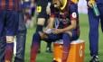 Neymar não deve mais jogar pelo Barcelona nesta temporada
