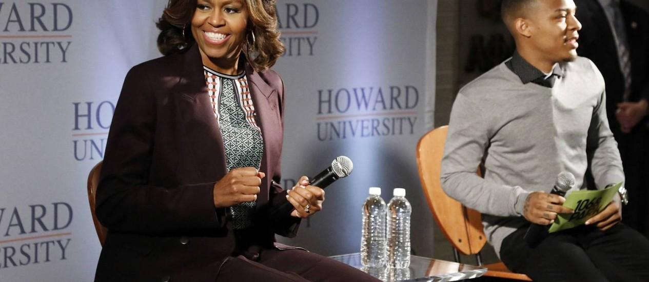 Michelle Obama fará participação em 'Nashville' Foto: REUTERS