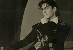 """Sergio Cardoso. Para Barbara Heliodora, a montagem de 'Hamlet"""" está entre as melhores Foto: Arquivo"""