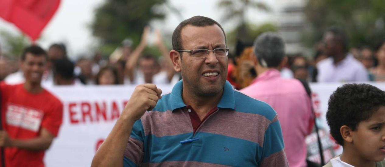 Prisco foi preso na sexta-feira e desembargador afirma que decisão sobre sua liberdade só pode ser dada pelo STF Foto: Terceiro / Agência O Globo - Arquivo - 12/06/2012