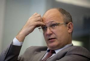 Silveira reconhece dificuldades do Plano Nacional de Dragagem Foto: Andrew Harrer/Bloomberg/4-4-2014 / Bloomberg