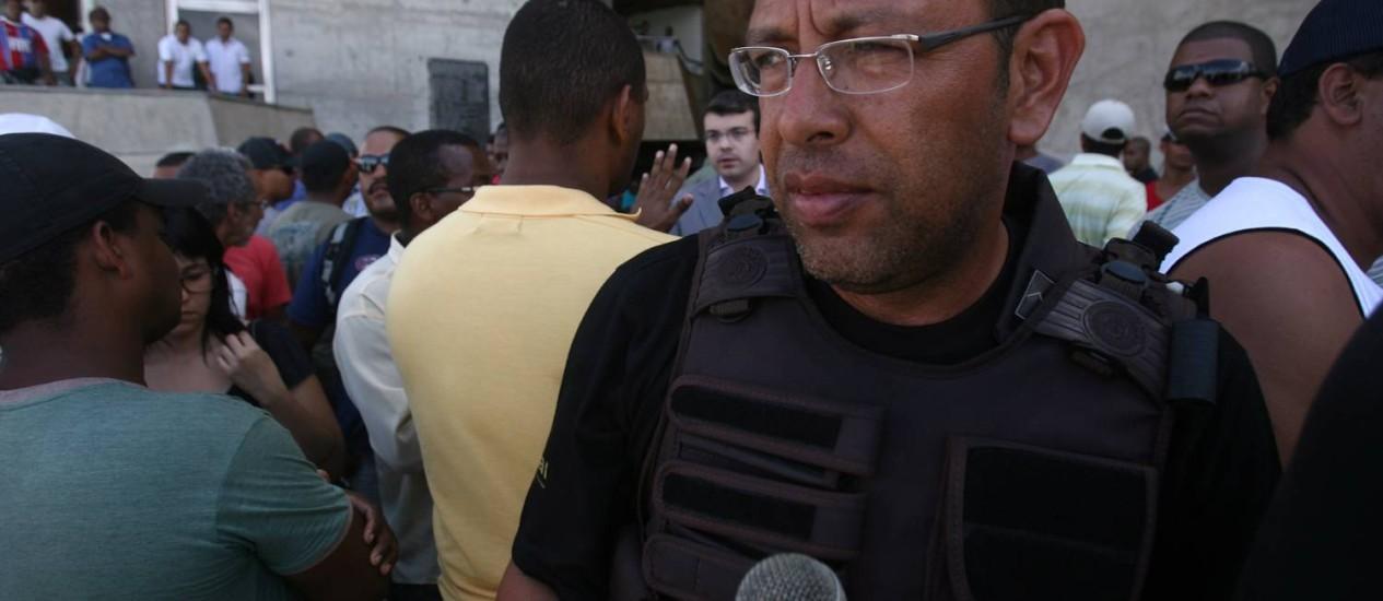 Prisco foi transferido para cela individual no presídio da Papuda Foto: Raul Spinassé / Agência O Globo - 03/02/12