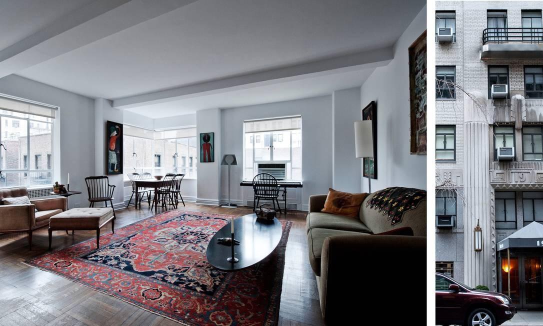 Apartamento de um quarto em prédio com serviços a apenas um quarteirão do Museu Guggenheim: US$ 975 mil, ou R$ 2,17 milhões Foto: / Emily Andrews/ New York Times