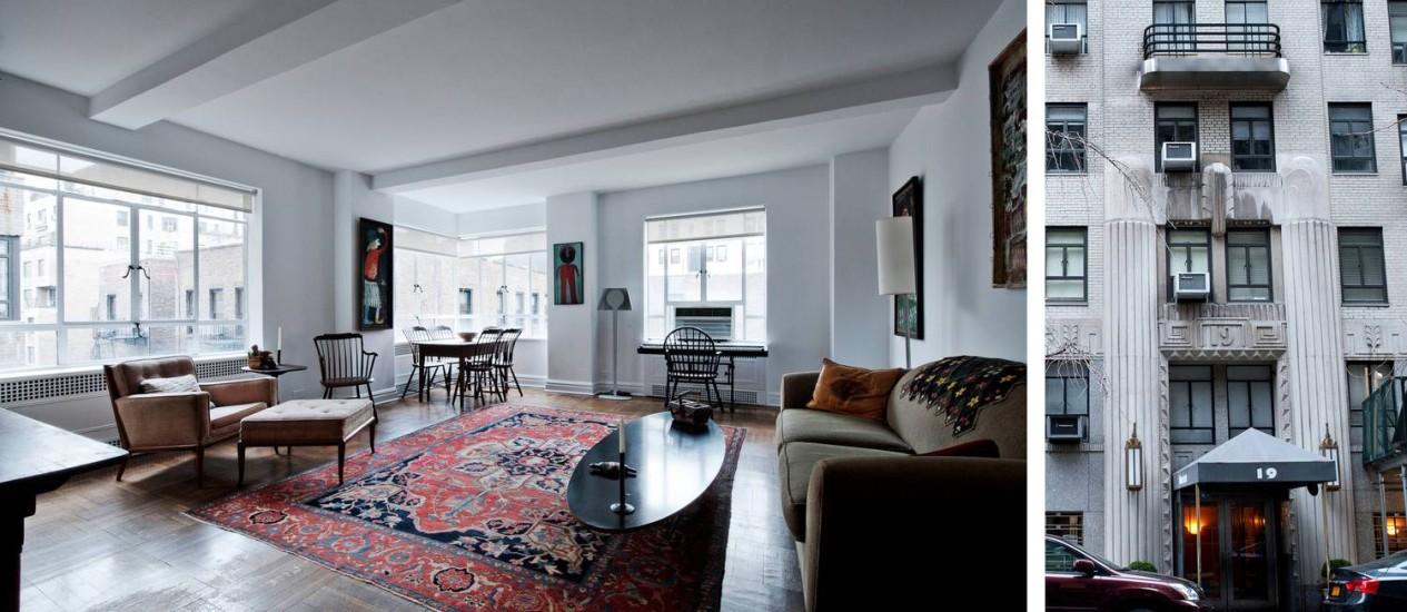 Apartamento de um quarto em prédio com serviços a apenas um quarteirão do Museu Guggenheim: US$ 975 mil, ou R$ 2,17 milhões Foto: Emily Andrews/ New York Times