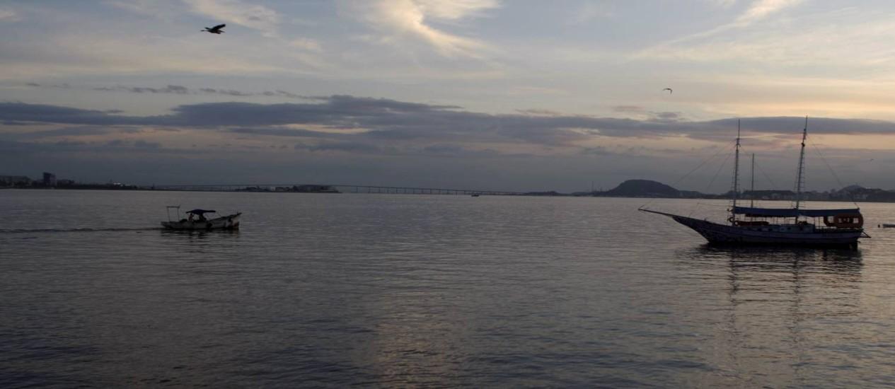 Baía da Guanabara será palco das Olimpíadas Foto: Gustavo Stephan / O Globo