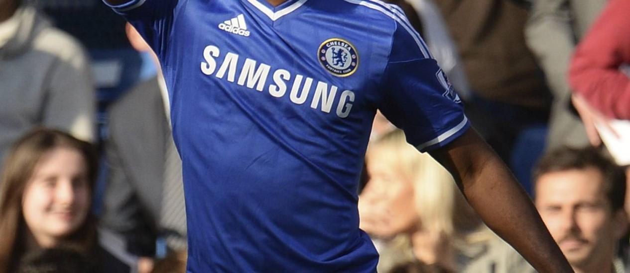 Eto'o vai desfalcar o Chelsea no jogo desta terça-feira, contra o Atlético de Madrid Foto: Philip Brown / Reuters