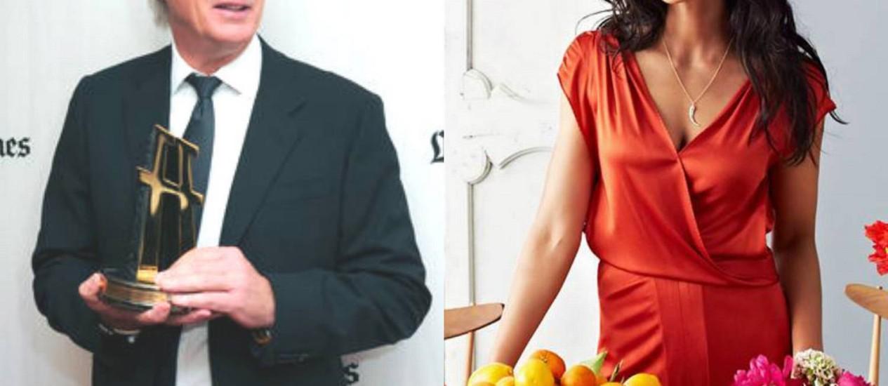 Richard Gere estaria namorando Padma Lakshmi Foto: Reprodução
