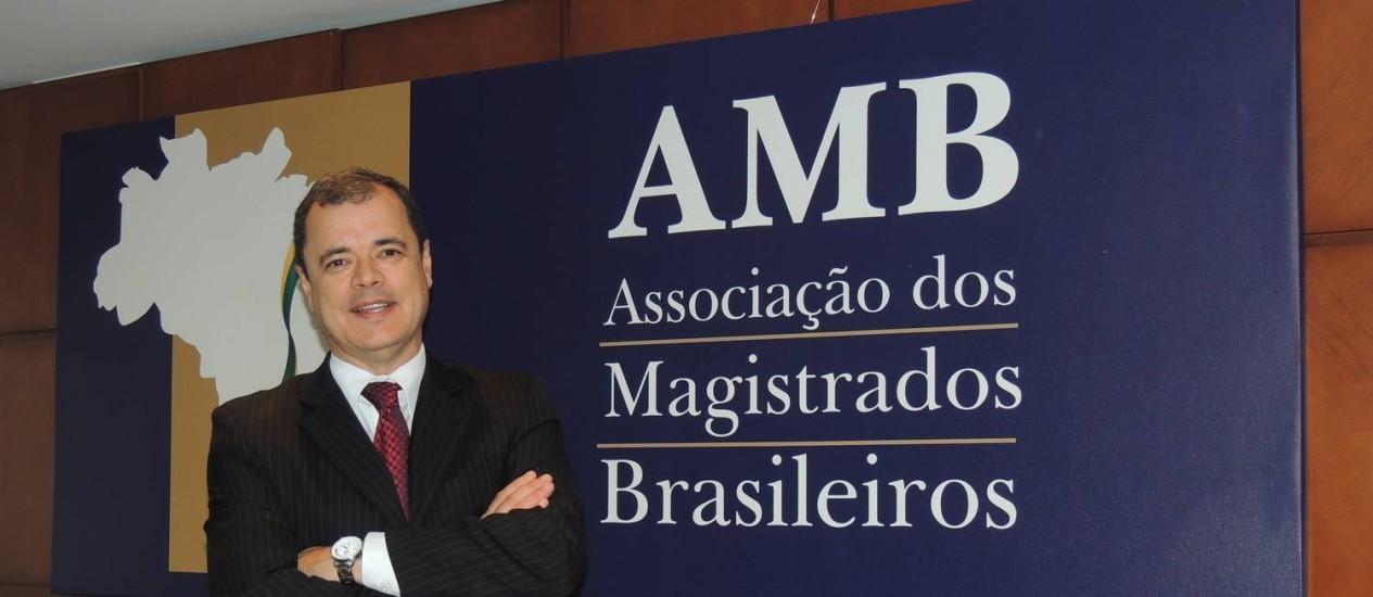 João Ricardo Costa, presidente da AMB: Foto: Renata Brandão/Divulgação AMB