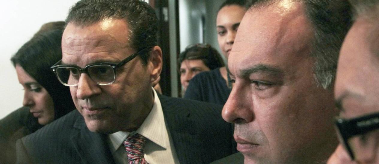 Henrique Alves, à esquerda, e André Vargas Foto: Jorge William / O Globo