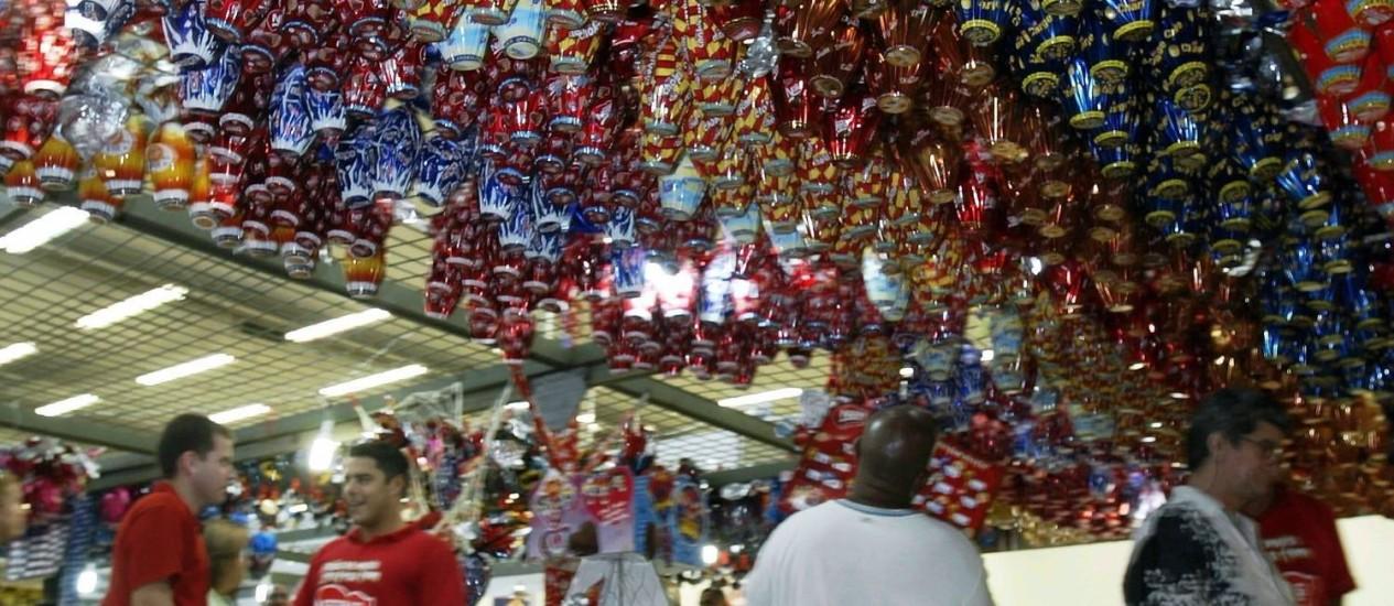 No ano passado, o comércio havia registrado avanço de 5,6% no período de Páscoa Foto: Lucíola Villela / O GLOBO
