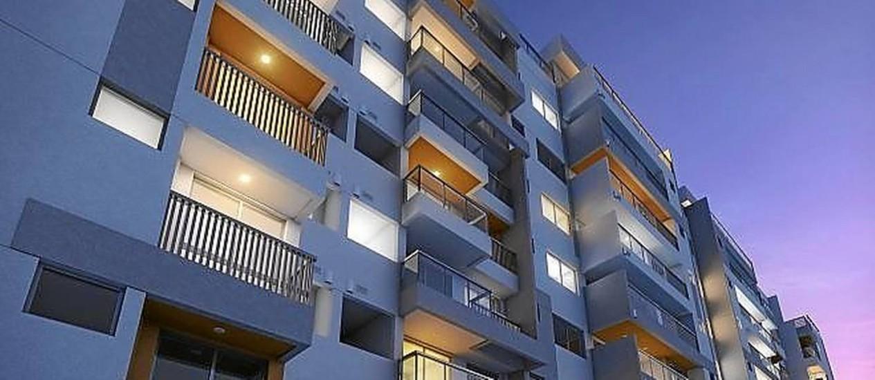 Sustentável . Unidades de prédio no Recreio terão esquadrias maiores para entrada de luz e ventilação naturais, como exige a certificação Aqua-HQE Foto: Divulgação