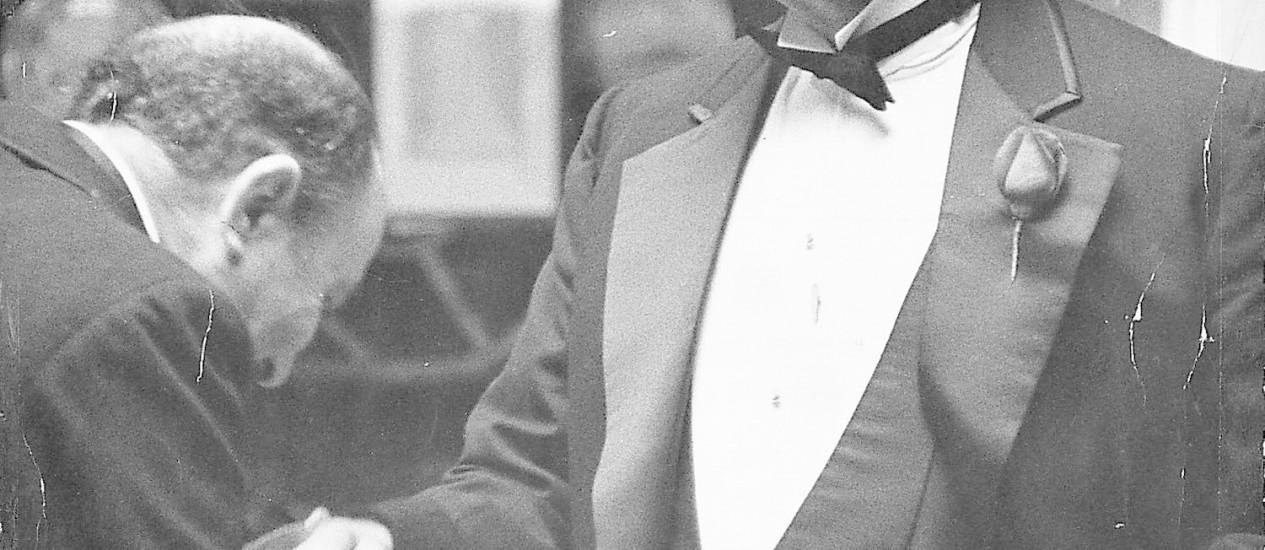 """Marlon Brando em """"O poderoso chefão"""" Foto: Arquivo"""