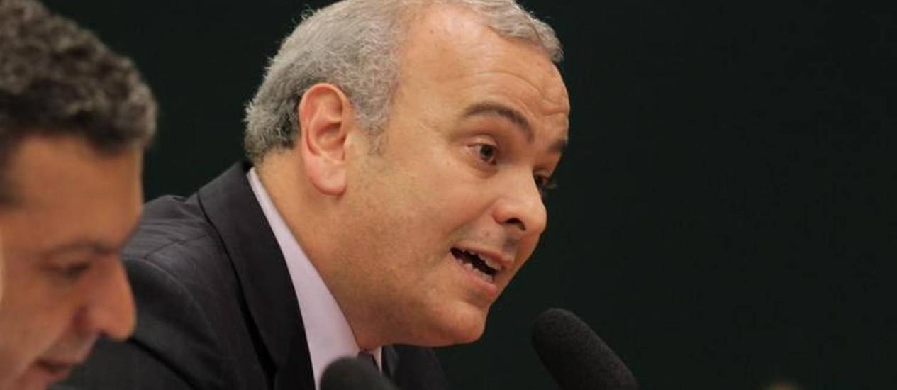 Deputado Júlio Delgado participa de sessão do Conselho de Ética da Câmara dos Deputados Foto: Ailton de Freitas / O Globo