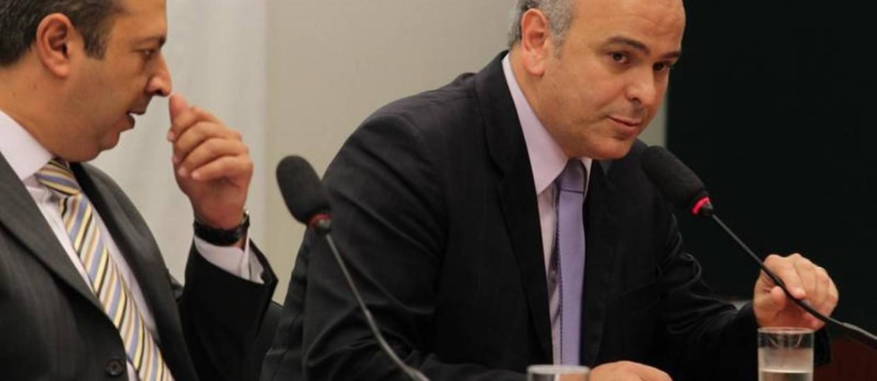Deputado federal Júlio Delgado comanda a sessão do Conselho de Ética da Câmara dos Deputados Foto: Ailton de Freitas / O Globo