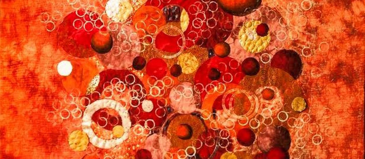 Exemplar de patchwork que fará parte da mostra Foto: Divulgação