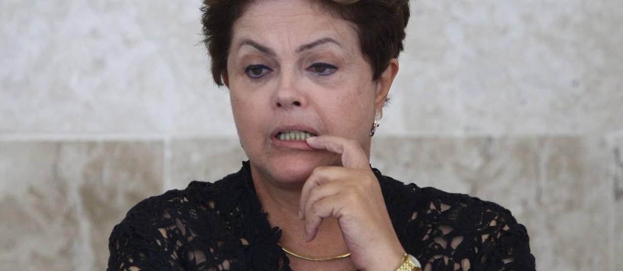 Presidente da República Dilma Rousseff Foto: O Globo / André Coelho