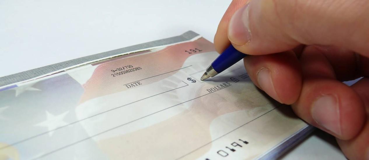No estado do Rio, a devolução de cheques em março foi de 1,64% do total de cheques compensados, maior que a taxa de 1,44% registrada em fevereiro Foto: Reprodução da internet