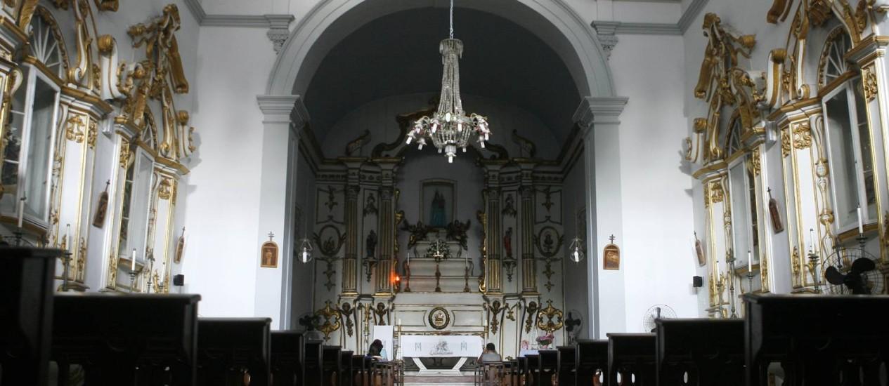 Paróquia Nossa Senhora do Loreto, em Jacarepaguá Foto: Fabio Rossi/12-05-2009 / Agência O Globo