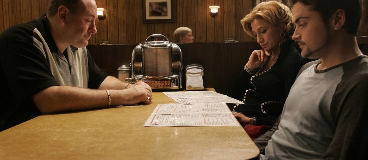 Cena de 'Família Soprano' Foto: Divulgação / HBO