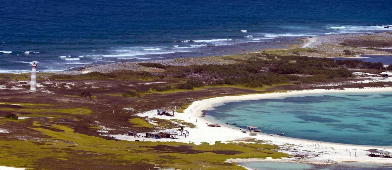 A Isla La Tortuga, no Caribe venezuelano, terá o aeroporto ampliado Foto: FEDERICO PARRA / AFP