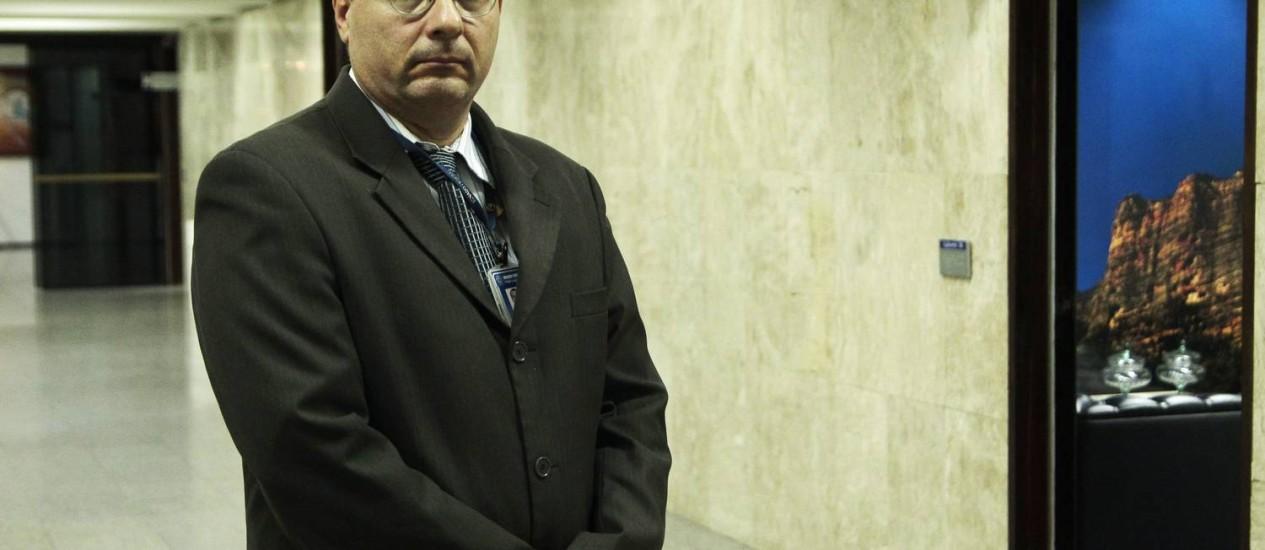 Fernando Moutinho é um dos três candidatos para a vaga de ministro do TCU Foto: Jorge William / Agência O Globo