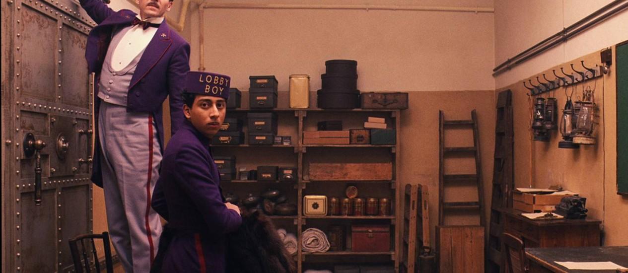 Cena de 'O Grande Hotel Budapeste', novo filme de Wes Anderson Foto: Divulgação