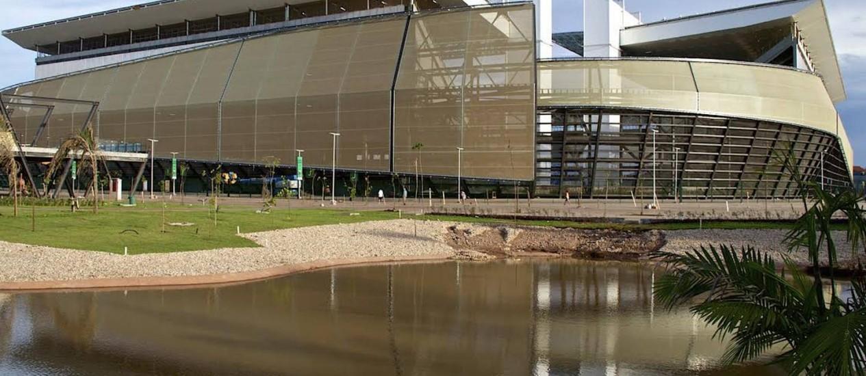 A Arena Pantanal está com 98% das obras concluídas, segundo a Secopa-MT Foto: Divulgação