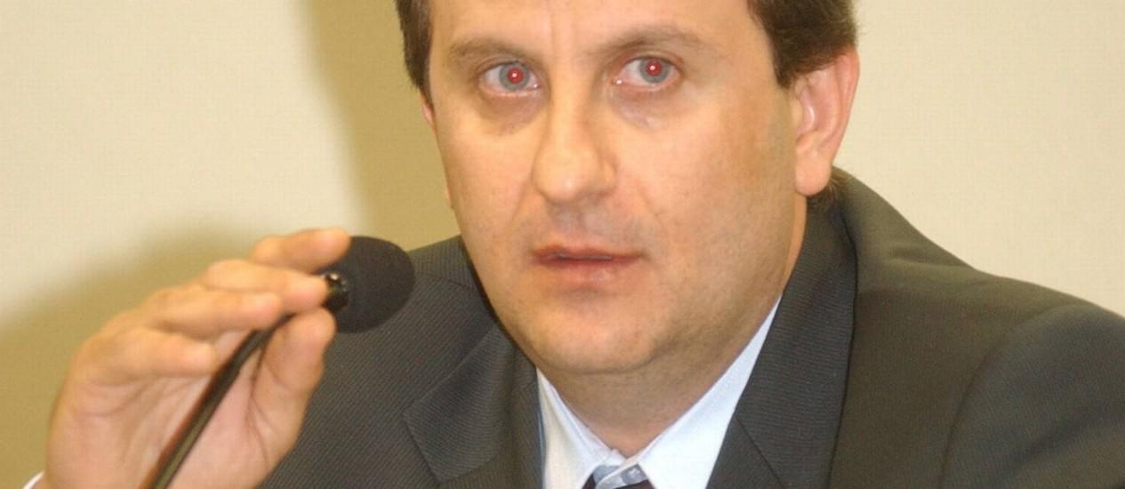 O doleiro Alberto Youssef Foto: Geraldo Magela/Agência Senado