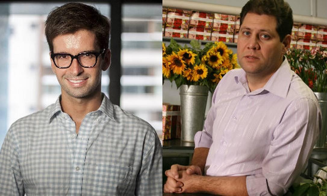 Guilherme Freire e Clóvis Souza têm em comum a vida à frente da própria empresa, mas eles não são da mesma geração e contam qual a diferença de gerir um negócio aos 28 e aos 43 anos. Foto: Divulgação