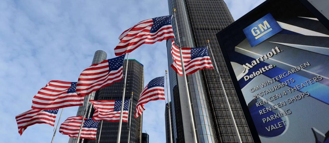 Sede da GM em Detroit: recall está relacionado a 13 mortes devido a problemas na ignição de veículos da montadora Foto: AFP
