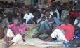 Haitianos e Senegaleses na cidade de Brasiléia, no Acre