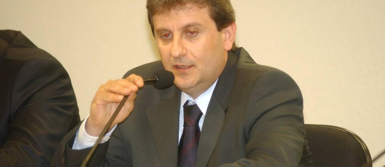 Carlos Alexandre de Souza Rocha, que fazia negócios ilegais com Youssef (foto), é preso Foto: Geraldo Magela / Agência O Globo