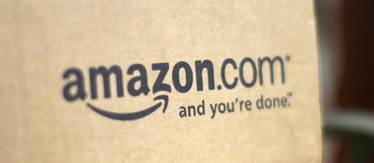 Caixa da Amazon: gigante do comércio on-line lucrou 18% mais no primeiro trimestre deste ano do que em igual período de 2013 Foto: Rick Wilking/Reuters/23-7-2008