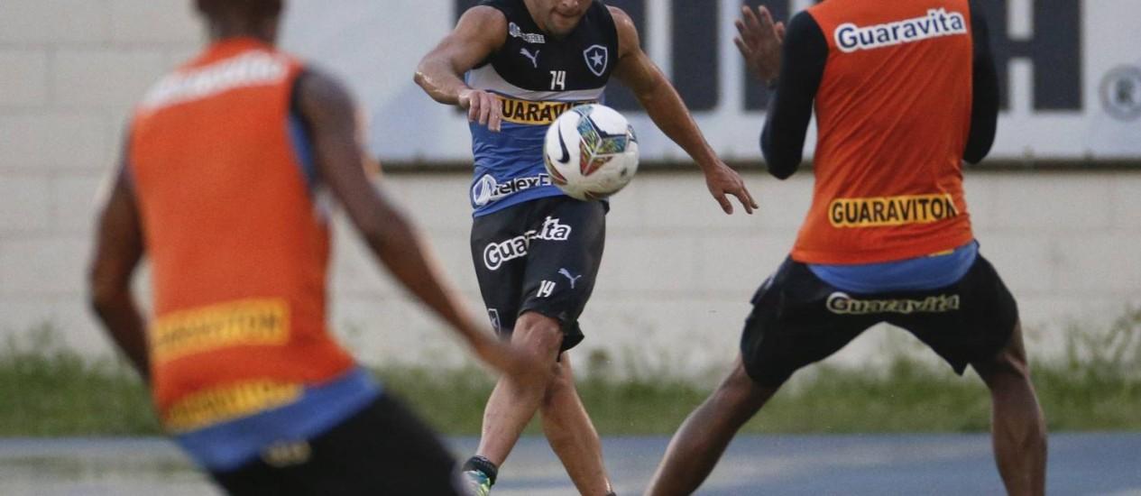 Lodeiro: 'Não estou fazendo meu melhor futebol' Foto: Guito Moreto / Agência O Globo