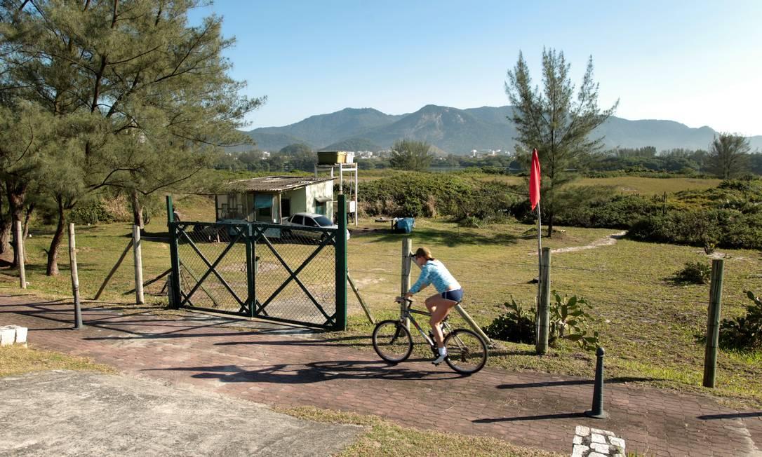 Reserva de Marapendi será transformada em parque até 2016 Foto: Gabriel de Paiva / Agência O Globo