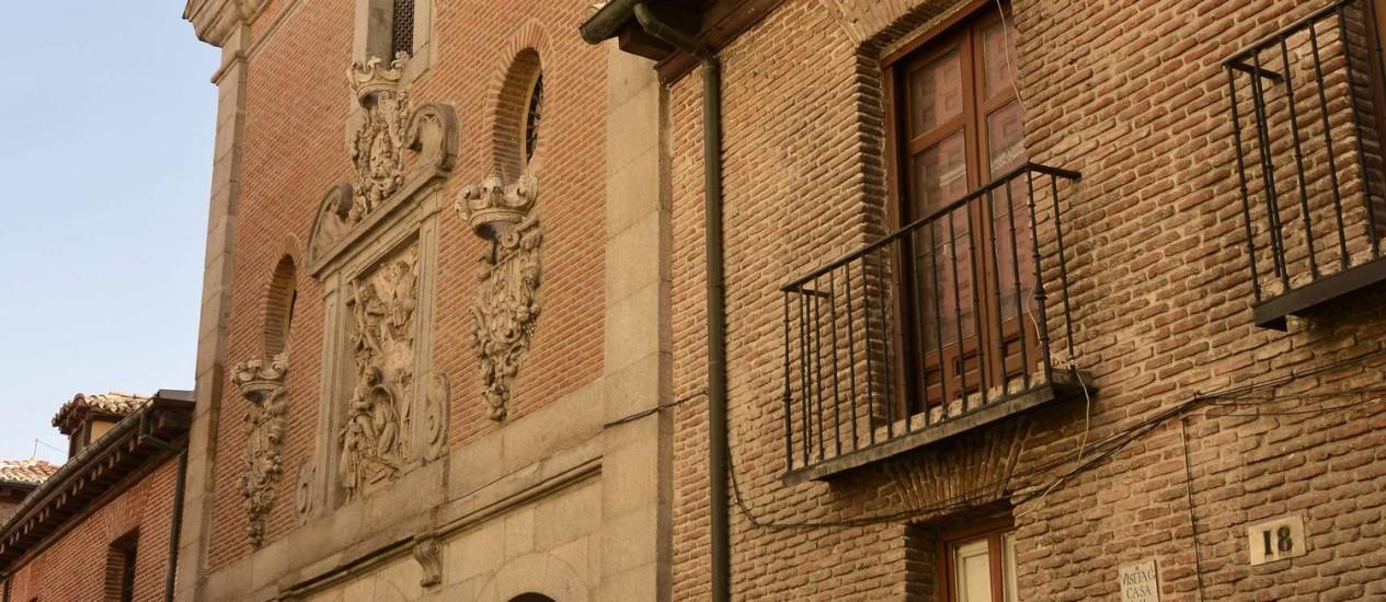 Convento em Madri onde serão procurados os restos mortais de Cervantes Foto: GERARD JULIEN / AFP