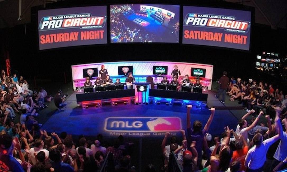 MLG é especializada na organização e transmissão de torneios de videogame Foto: Reprodução