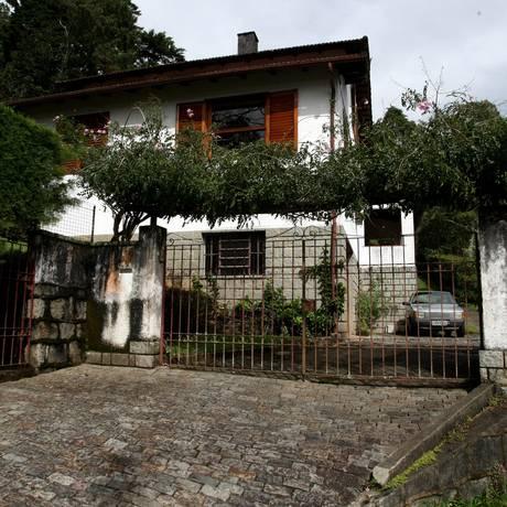 Em Petrópolis, a chamada 'Casa da morte' onde presos políticos da ditadura foram torturados Foto: Custódio Coimbra / Agência O Globo