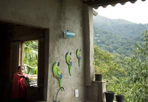 Carlos Roberto Alves Jeremias, o Betinho, tem 15 anos e mora na favela Nova Divinéia, no Grajaú Foto: Márcia Foletto / Agência O Globo