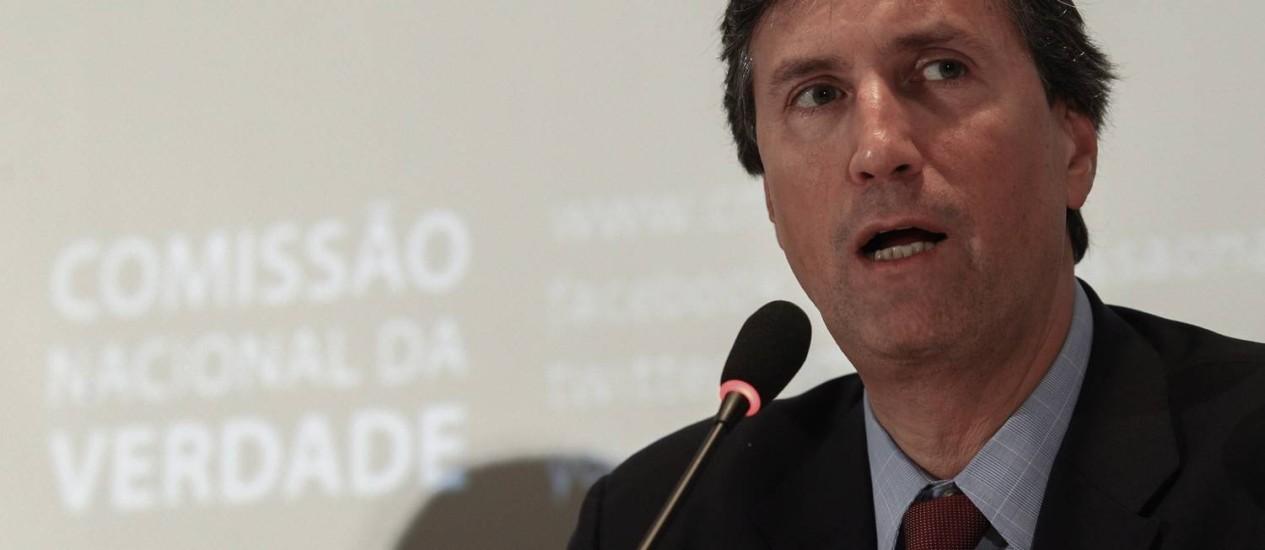 Pedro Dellari pediu para Ministério da Justiça para que Polícia Federal participe da investigação Foto: André Coelho / Agência O Globo