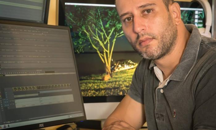 """Marcio Bouzas: """"Não tem como falar de polícia sem falar de problema social"""" Foto: Mauro Ventura / O GLOBO"""