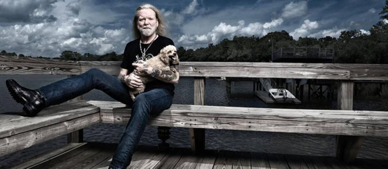 O músico Gregg Allman Foto: Tim Johnson / Divulgação