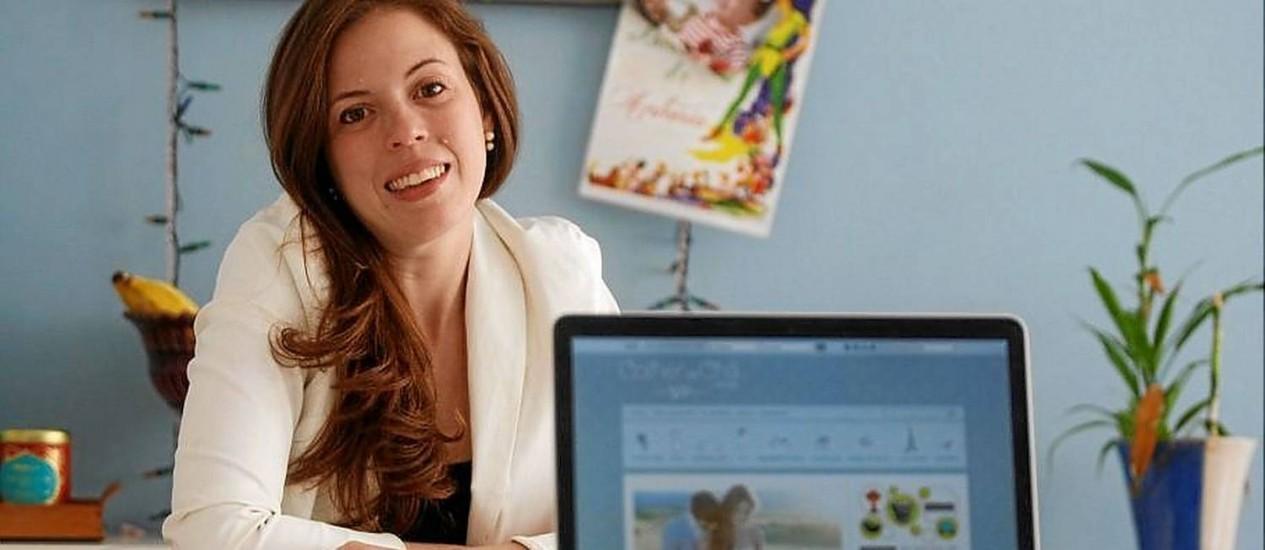 Colher de Chá. Manoela trocou a vida de jornalista para se tornar blogueira especializada em casamentos Foto: Guilherme Leporace / Guilherme Leporace