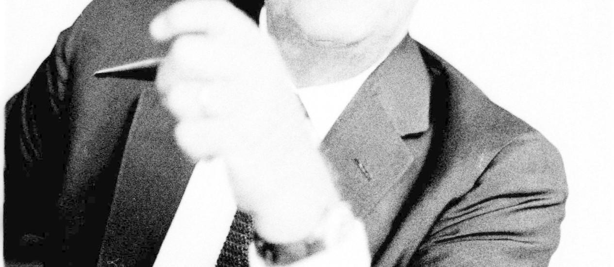 Cartas desenham personalidade ora agressiva, ora afetuosa: edição será lançada na terça-feira, véspera do centenário de Lacerda, morto em 1977 Foto: Arquivo