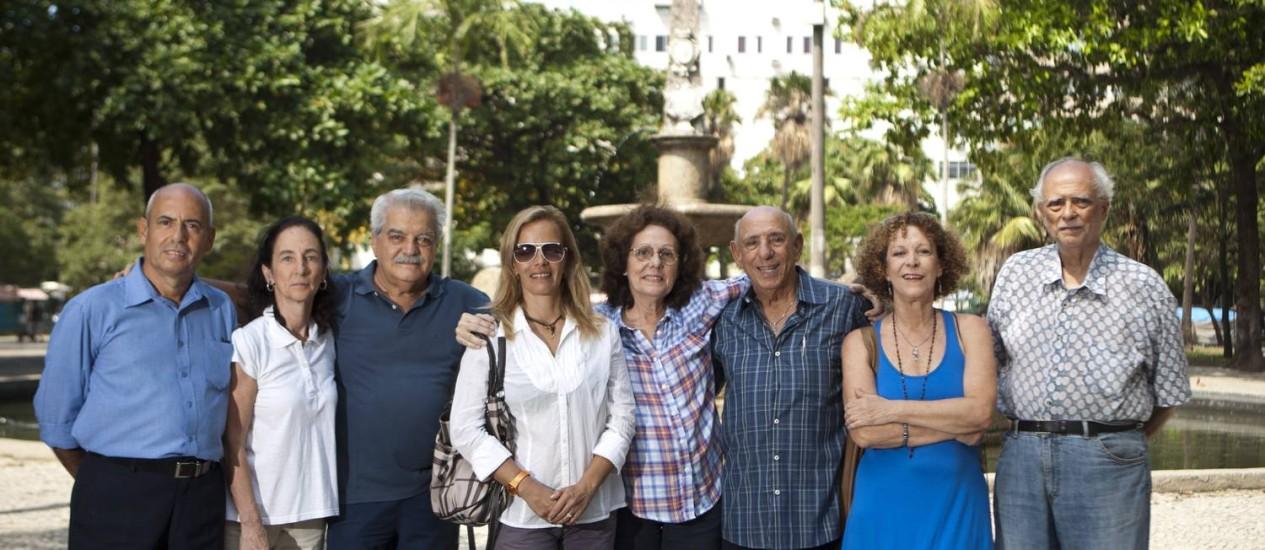 Unidos. Parte da diretoria da Amipanema, que é composta por 40 membros Foto: Guilherme Leporace