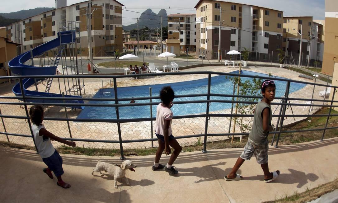 O Parque Carioca fica na Estrada dos Bandeirantes, a cerca de um quilômetro da Vila Autódromo Foto: Custódio Coimbra / Agência O Globo