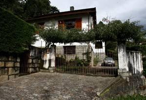 Pelo menos 22 pessoas morreram na Casa da Morte, em Petrópolis, durante a Ditadura Militar Foto: Arquivo/Custódio Coimbra / Agência O Globo